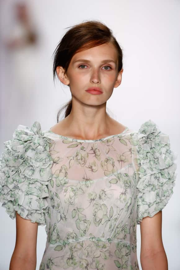 Anna Wilken für Riani auf der Berliner Fashion Week