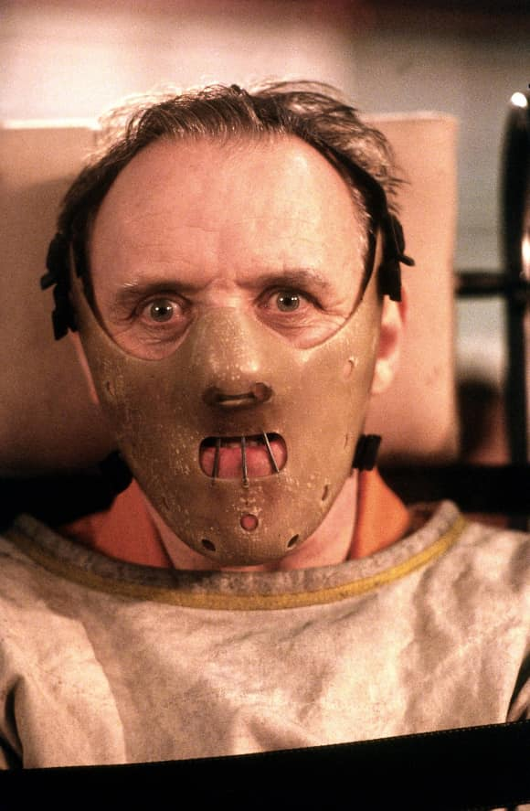 """""""Hannibal Lector"""" in """"Silence of the Lambs"""""""