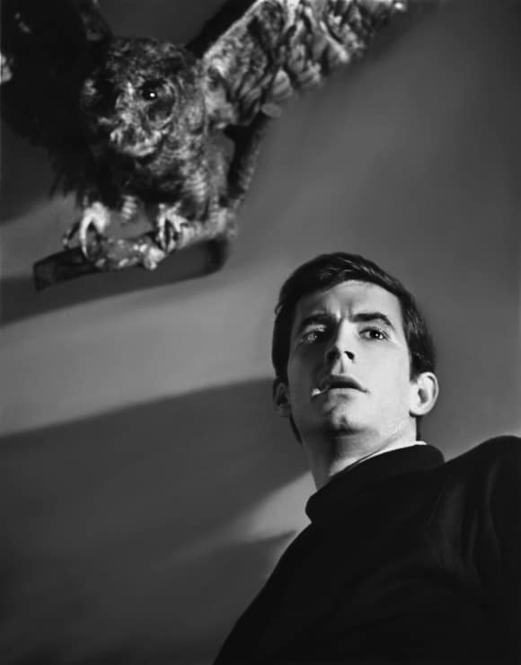 """Anthony Perkins in """"Psycho"""""""