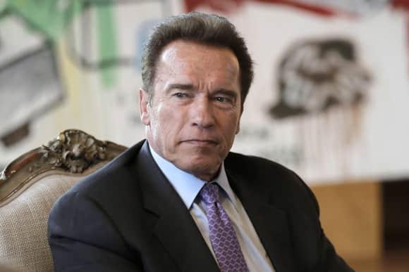 """""""Terminator"""" star Arnold Schwarzenegger"""