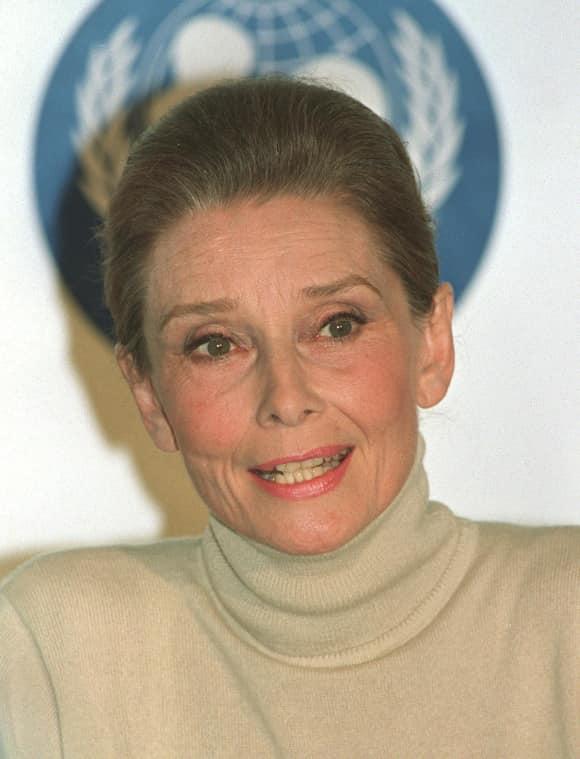 Audrey Hepburn died due to cancer