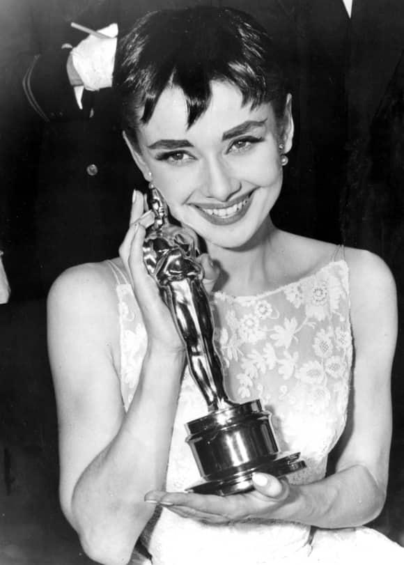 Audrey Hepburn in 1954