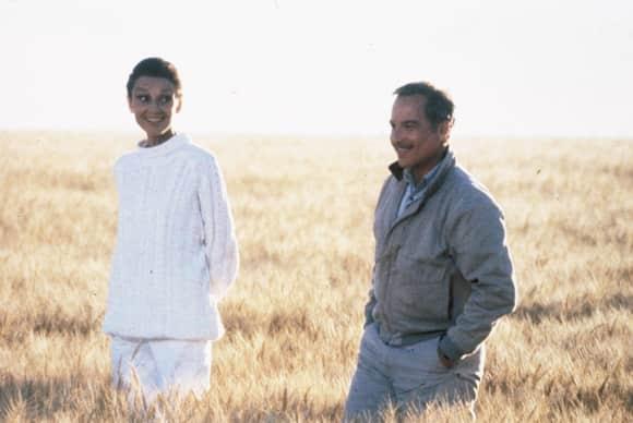 """Audrey Hepburn and Richard Dreyfuss in """"Always"""""""
