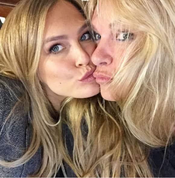 Bar Refaeli und ihre hübsche Mama