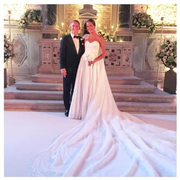 Bastian Schweinsteiger und Ana Ivanovic haben geheiratet