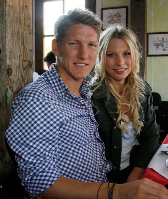 Trennung nach der WM 2014: Bastian Schweinsteiger und Sarah Brandner