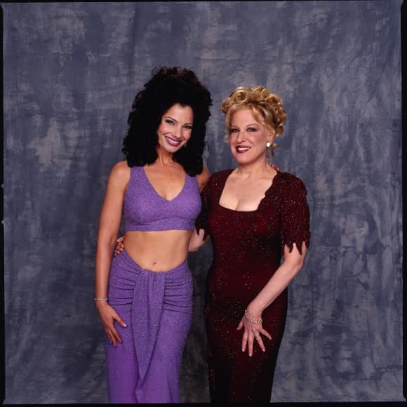 """Bette Midler and Fran Drescher in """"The Nanny"""""""