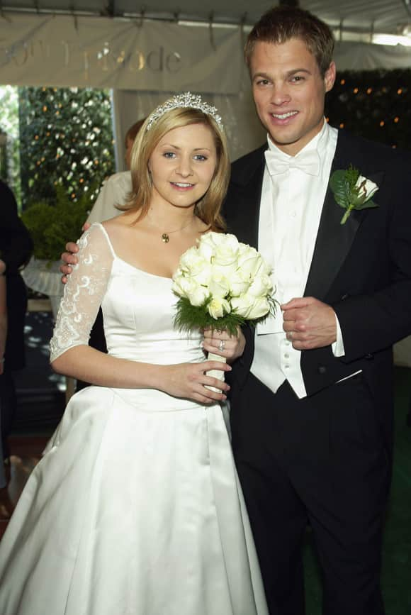 """""""7th Heaven"""": George Stults and Beverley Mitchell"""