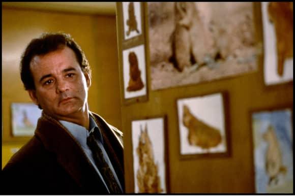 "Bill Murray in ""Groundhog Day"""