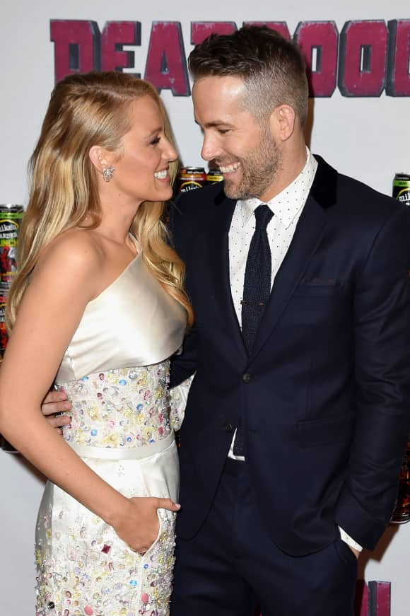 Blake Lively and Ryan Reynolds Deadpool Premiere