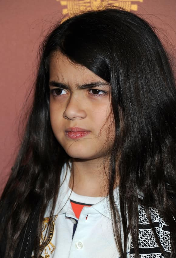 Blanket Jackson is Michael Jackson's youngest son