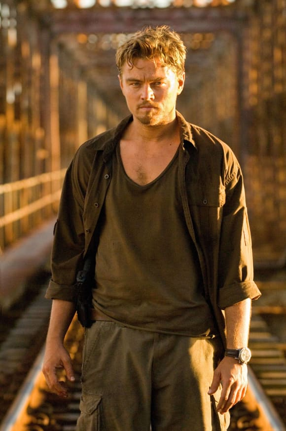 "Leonardo DiCpario in ""Blood Diamond"""