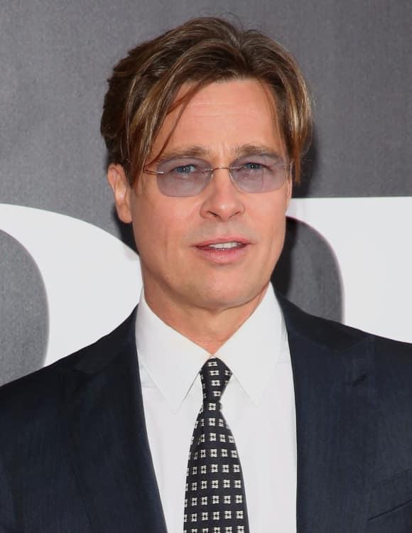 Hollywood hottie Brad Pitt