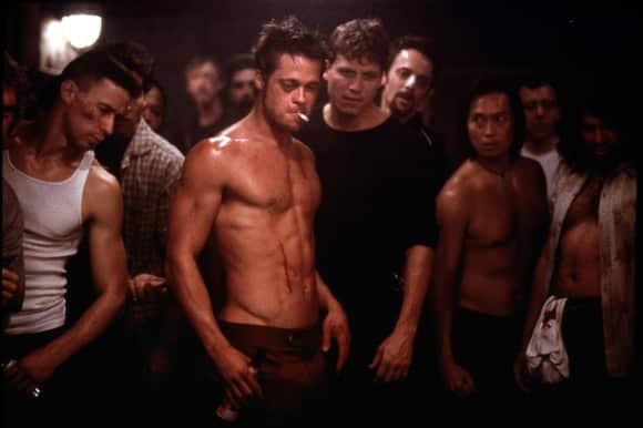 """Brad Pitt in """"Fight Club"""""""