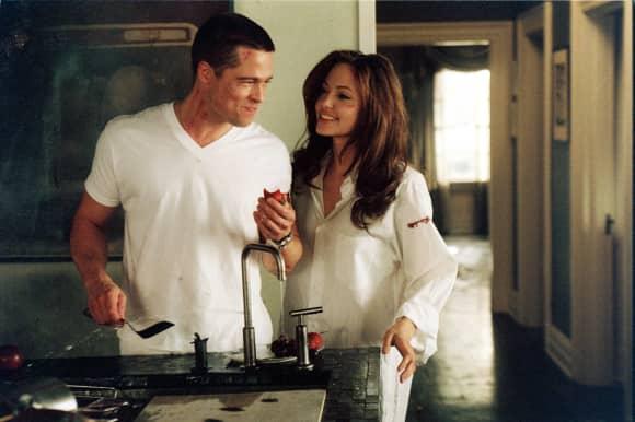 Angelina Jolie und Brad Pitt lernten sich bei den Dreharbeiten kennen