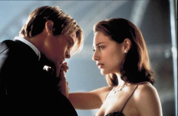 """Brad Pitt und Claire Forlani in """"Rendevous mit Joe Black"""""""
