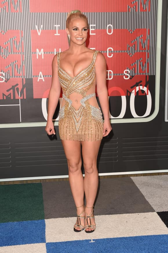 Britney Spears bei den VMAs 2015