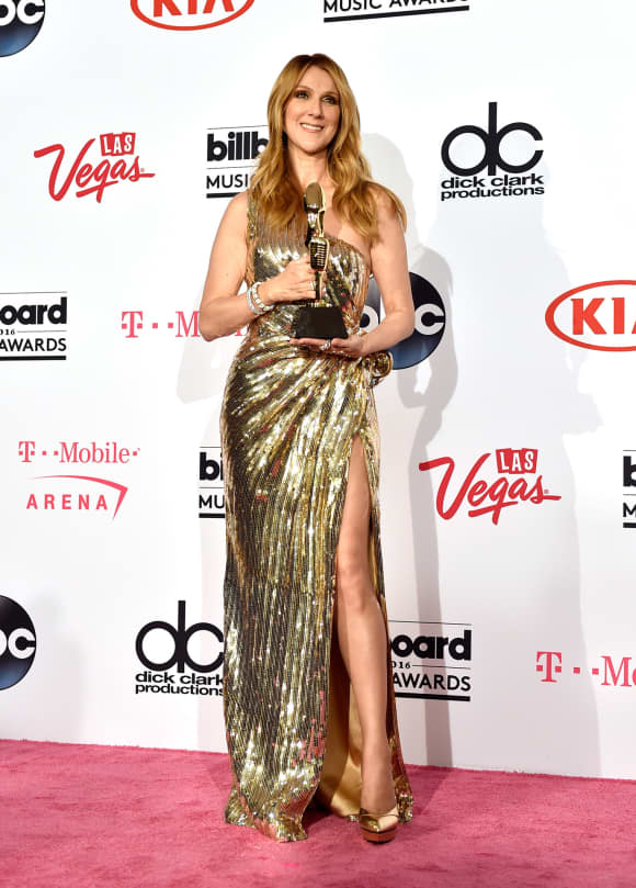 Céline Dion bei den Billboard Music Awards 2016
