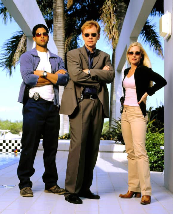 """CSI Miami"" stars Adam Rodriguez, David Caruso and Emily Procter"