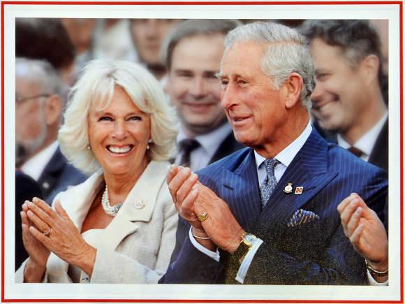 Camilla und Prinz Charles strahlen vor Glück