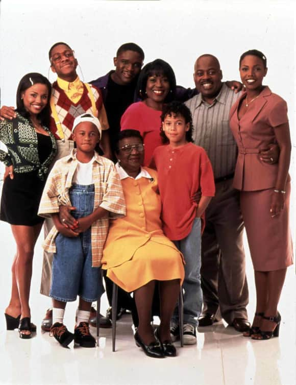 "The cast of ""Family Matters"""
