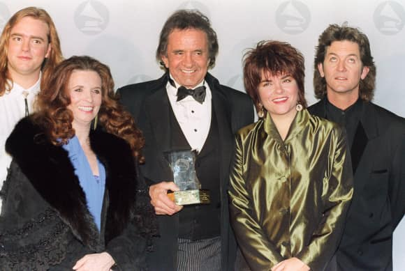 Johnny Cash and His Family