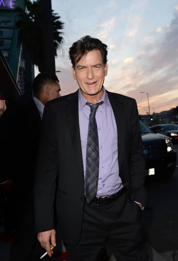 """""""Two and a Half Men"""" star Charlie Sheen"""