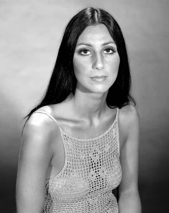 Singer Cher in 1970
