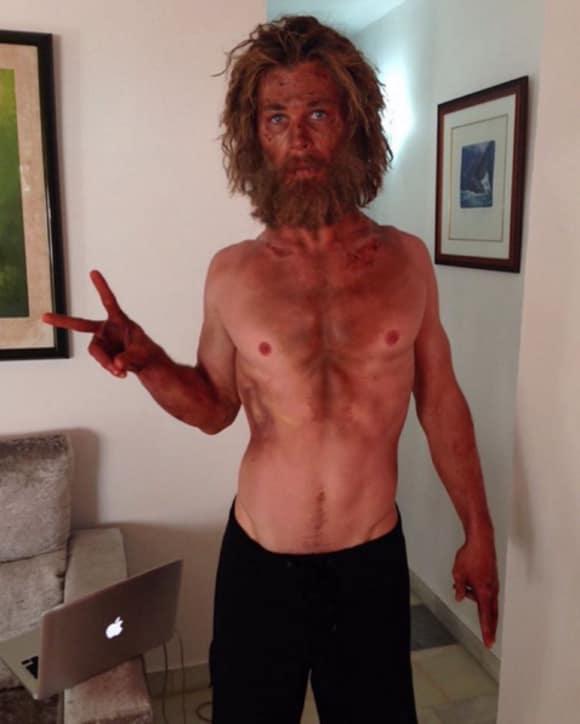 """So sieht Chris Hemsworth für seine neue Rolle in """"Lost in Sea"""" aus"""