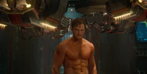"Chris Pratt in ""Guardians of the Galaxy"""