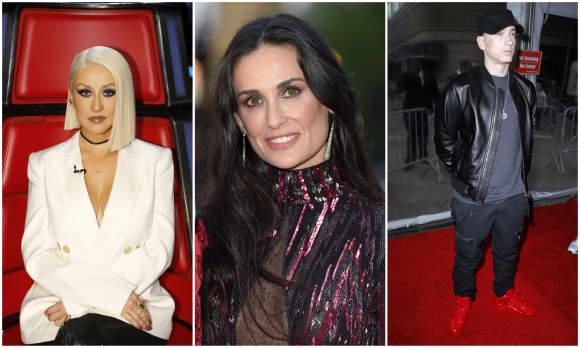 Christina Aguilera, Demi Moore und Eminem sind nur eine der Wenigen die schlimme Kindheitserinnerungen zu verkraften haben