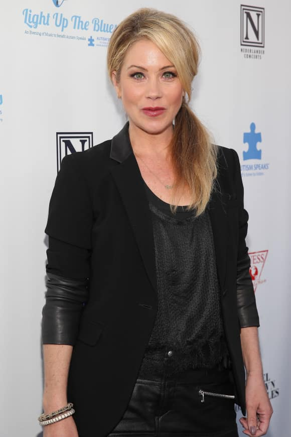 Christina Applegate was diagnosed with breast cancer in 2008
