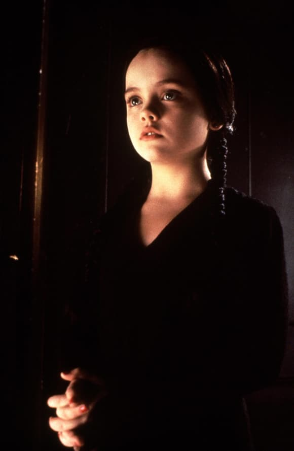 """Christina Ricci as """"Wednesday Addams"""" in """"The Addams Family"""""""