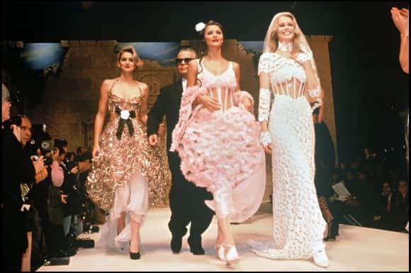 Cindy Crawford, Helena Christensen und Claudia Schiffer