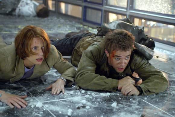 """Claire Danes und Nick Stahl in """"Terminator 3 – Rebellion der Maschinen"""""""