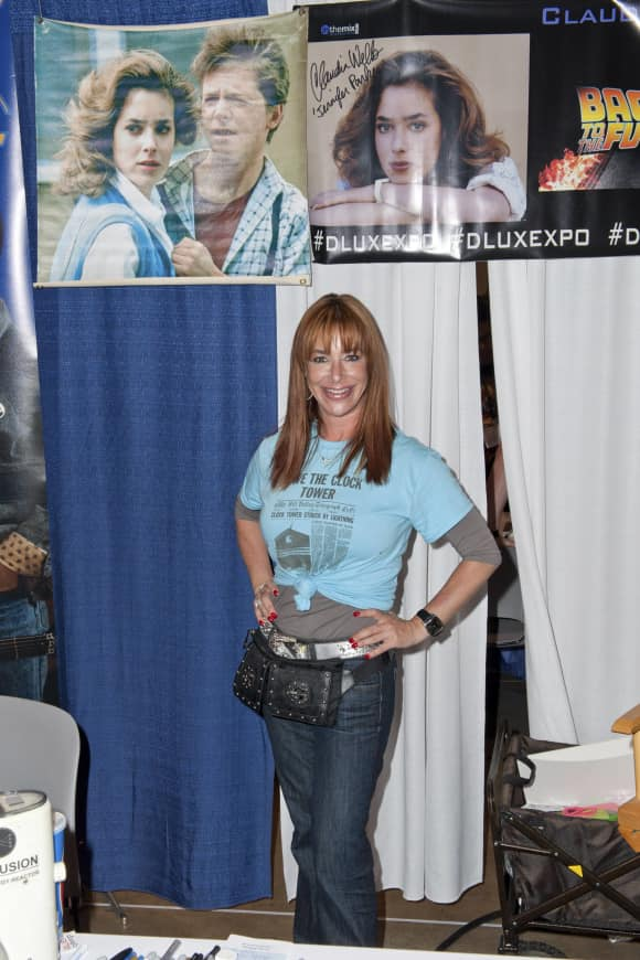 """Back To The Future"" star Claudia Wells today"