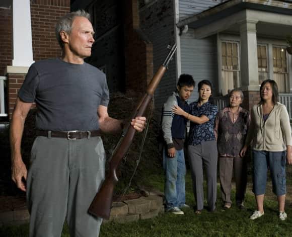 """Clint Eastwood in """"Gran Torino"""""""