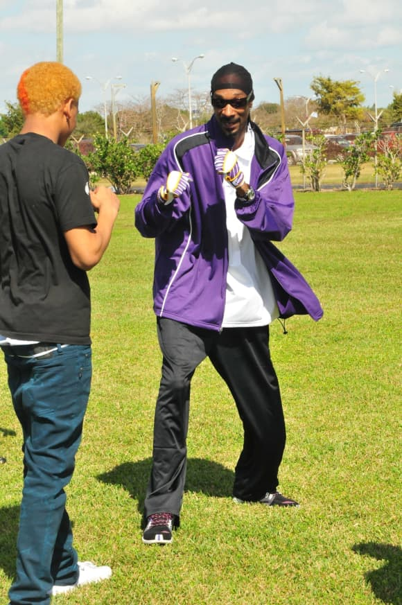 Coach Snoop Scene