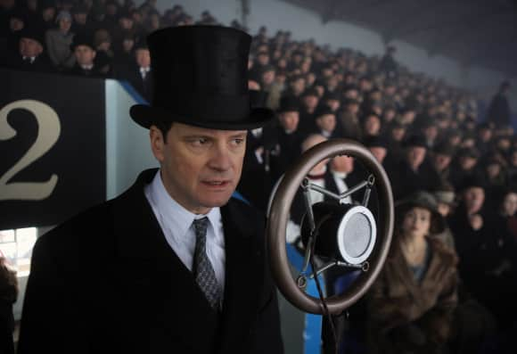 "Colin Firth in ""The King's Speech"""