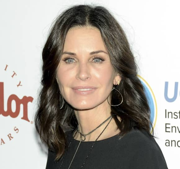 Courteney Cox after plastic surgeries