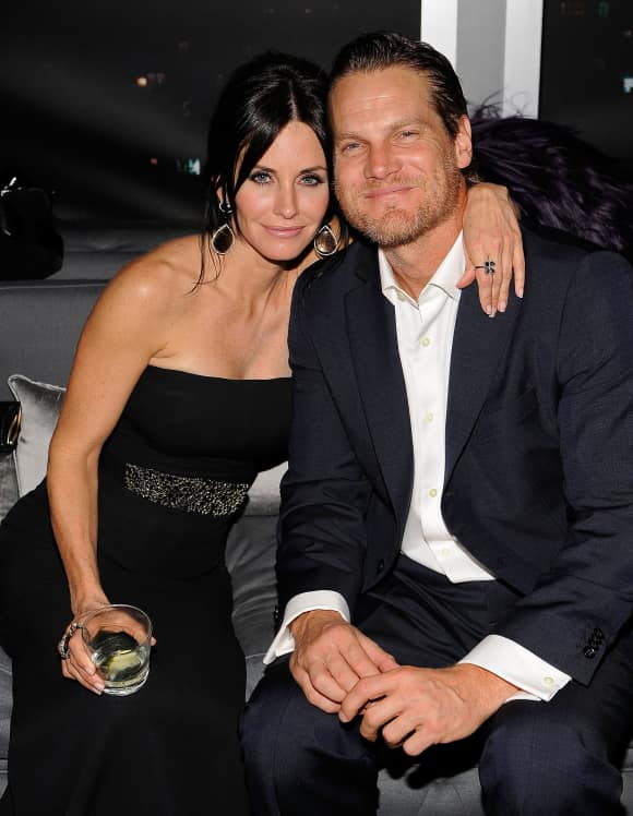 Courtney Cox and Brian Van Holt