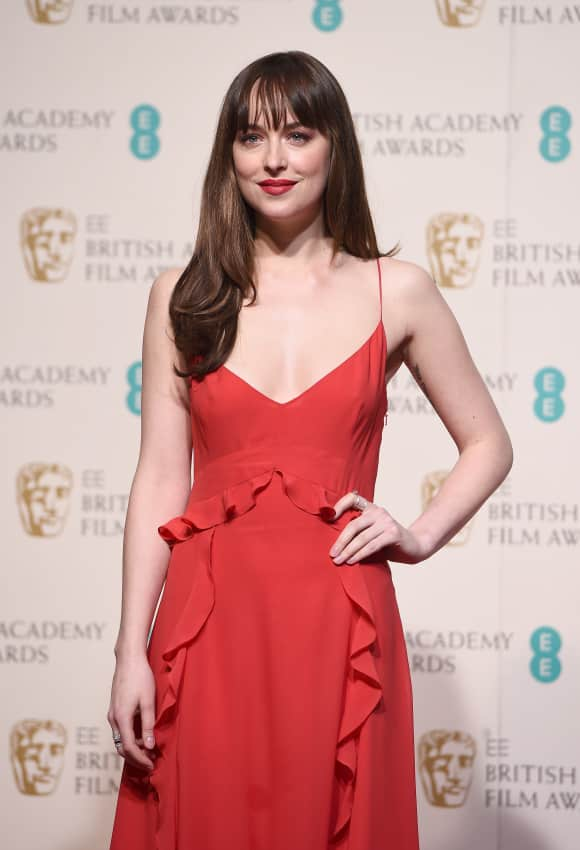 Dakota Johnson bei den EE British Academy Awards Film im Jahr 2016