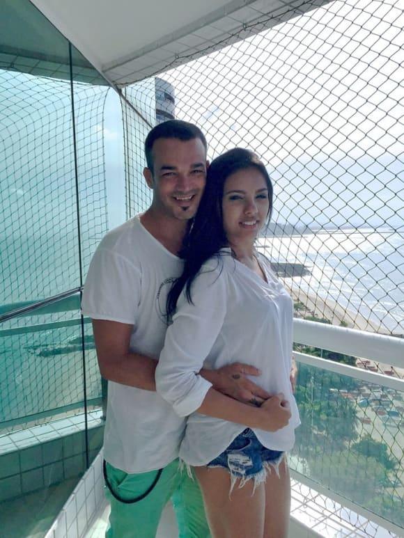 Daniel Lopes mit seiner Freundin Magna