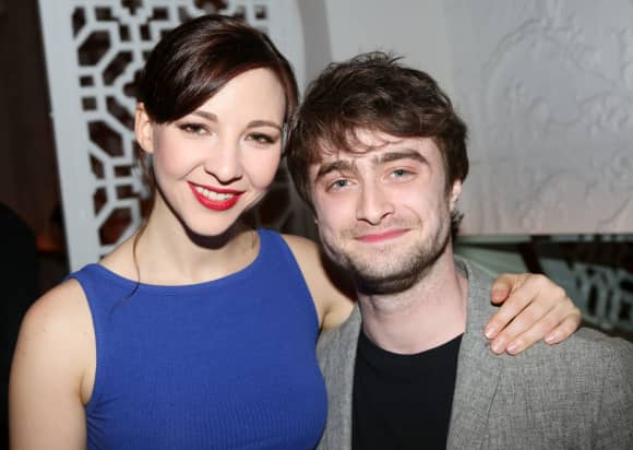Daniel Radcliffe and Erin Darke are happily in love