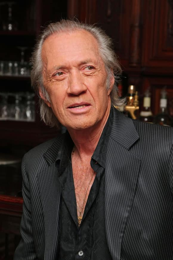 "David Carradine at ""The Golden Boys"" meet and greet"