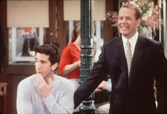 David Schwimmer and Bruce Willis