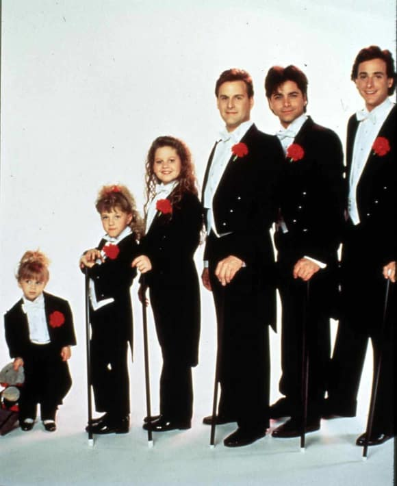 "Der ""Full House""-Cast"