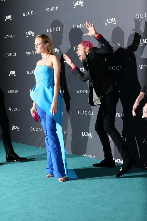 Jared Leto photobomed Diane Kruger