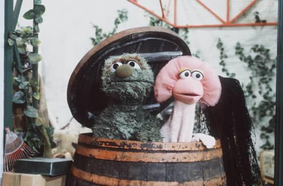 """""""Oscar"""" und """"Tiffy"""" aus der """"Sesamstraße"""""""