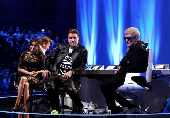 Dieter Bohlen, Mandy Capristo, DJ Antoine und Heino